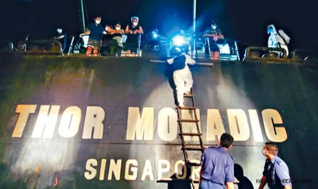 Yük gemisinin kaptanı Çin'de tutuklandı!
