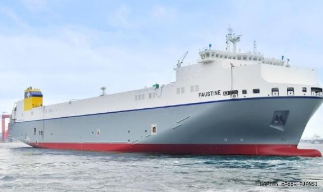 Hyundai Mipo Güney Kore'nin ilk LNG yakıtlı Ro-Ro gemisini inşa etti!