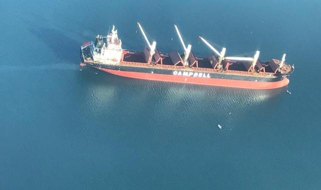 İzmit Körfezi'ni kirleten gemiye 2 milyon 773 bin TL ceza!