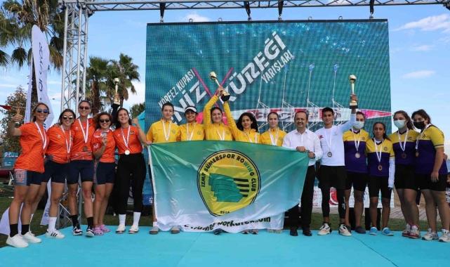 Körfez Kupası Deniz Küreği Yarışları'nda İzmit Sümerspor fırtınası esti!
