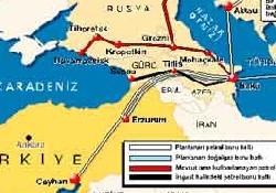 Ceyhan'da ilk gemi Nisan'da yükleniyor
