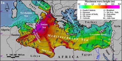 Dev tsunami 3 kıtayı kaplamıştı