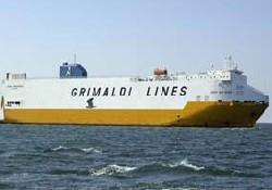 Grimaldi Derince'ye uğramaya başladı