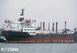 Asbestli gemi Türkiye yolunda