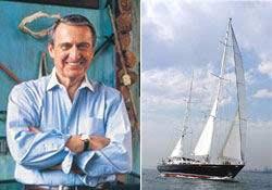 Rahmi Koç yelkenliyle dünya turunda...