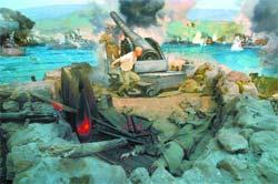 14 deniz savaşına sahne oldu
