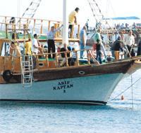 Ankara'nın stresini teknede attılar