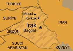 Irak'ta 8 Türk rehin tutuluyor